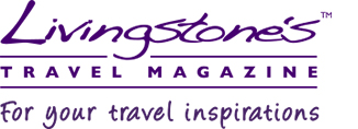 livingstones travel magazine logo