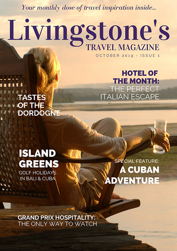 travel magazine cover