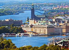 stockholm city holiday