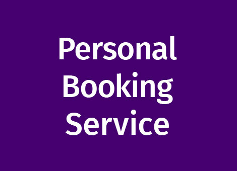 personal booking service