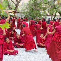 TIBET - Buddhism Debating