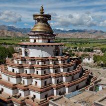 TIBET - Gyanste Temple