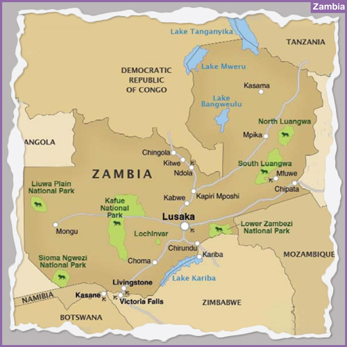 Destination ZAMBIA