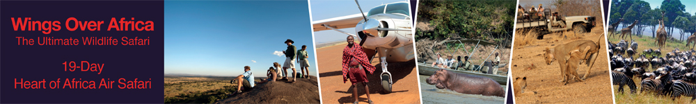 Wings Over Africa (Botswana) Destintion Banner