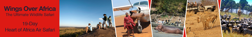 Wings Over Africa (Zimbabwe) Destintion Banner
