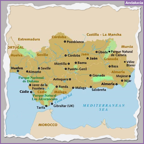 Destination ANDALUSIA