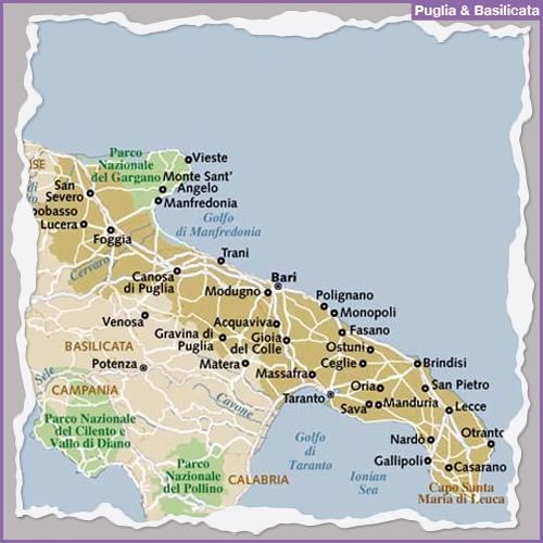 Destination PUGLIA & BASILICATA