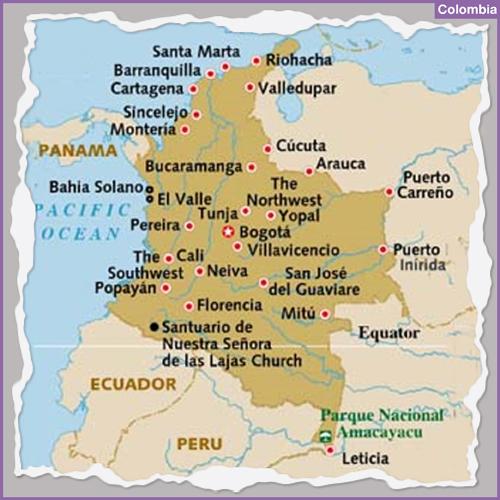 Destination COLOMBIA