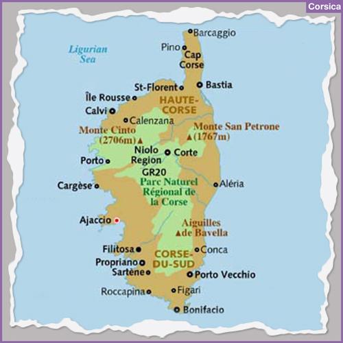 Destination CORSICA