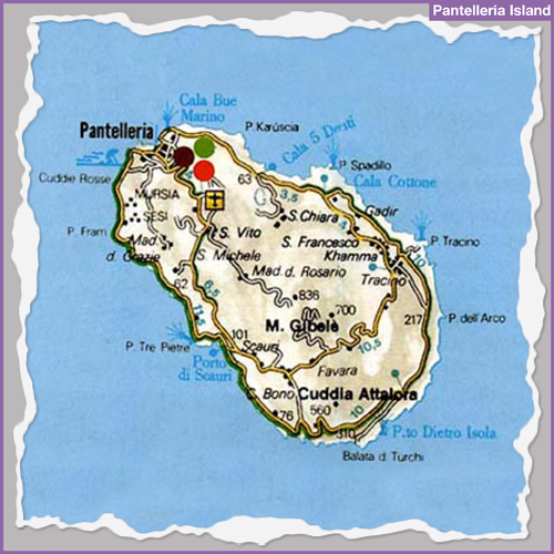 Destination PANTELLERIA ISLAND