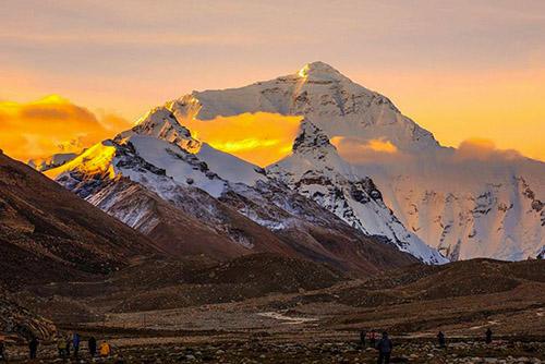 TIBET - Everest View