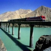 TIBET RAIL HOLIDAY - Qingzang Railway Chumaer River Station