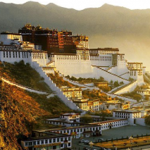 TIBET RAIL HOLIDAY - Qingzang Railway Potala Palace at Sunset