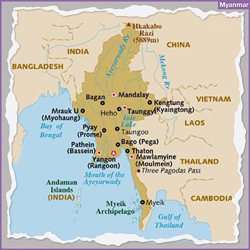 bespoke luxury travel Destination MYANMAR