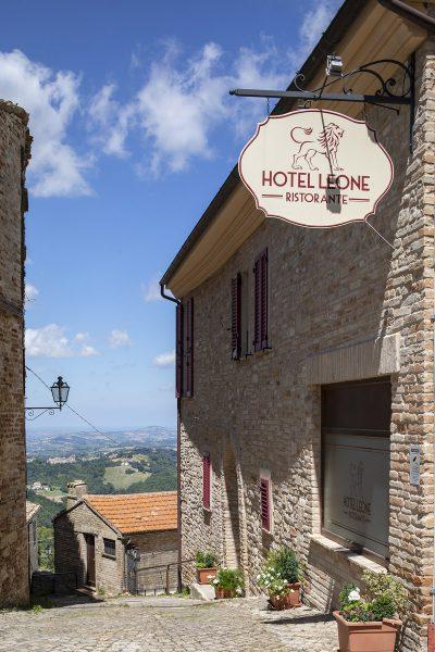 Hotel Leone, Montelparo, Le Marche, Italy.