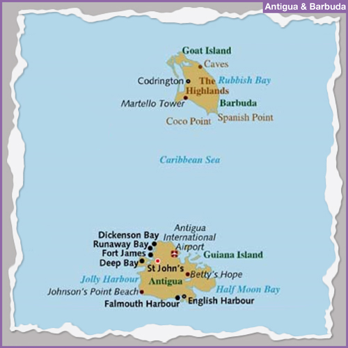 Destination ANTIGUA & BARBUDA